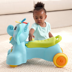 Ollie, 3-in-1 Sit, Walk & Ride Elephant