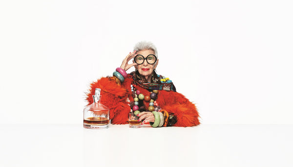 Iris Apfel X NUDE - a new partnership