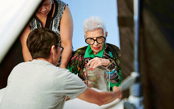 Iris Apfel X NUDE - an Interview