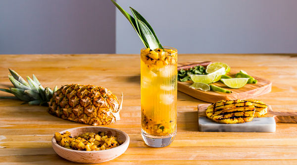 Summer Cocktails - The Grilled Pineapple Mojito