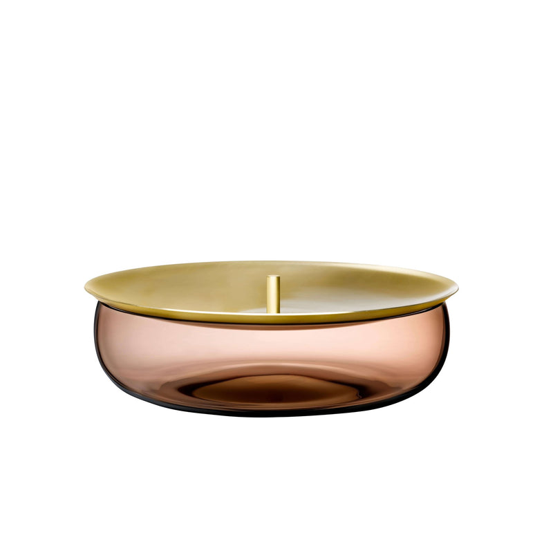 Beret@Storage Box Medium with Brass Lid
