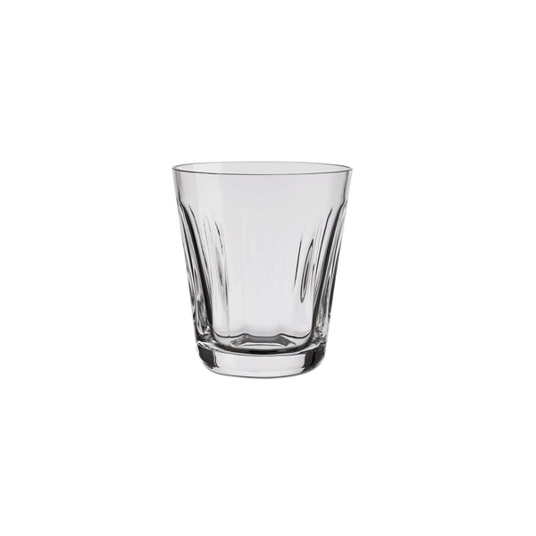 NUDE Lady leadfree crystal tumbler in clear empty