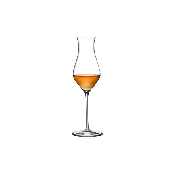 Nude Glass Islands Whisky tasting glass tall  with whisky
