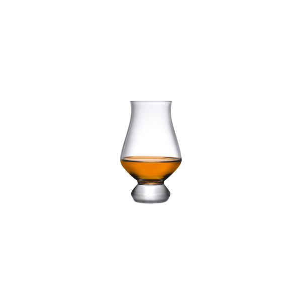 Nude Glass Islands Whisky tasting glass short with whisky