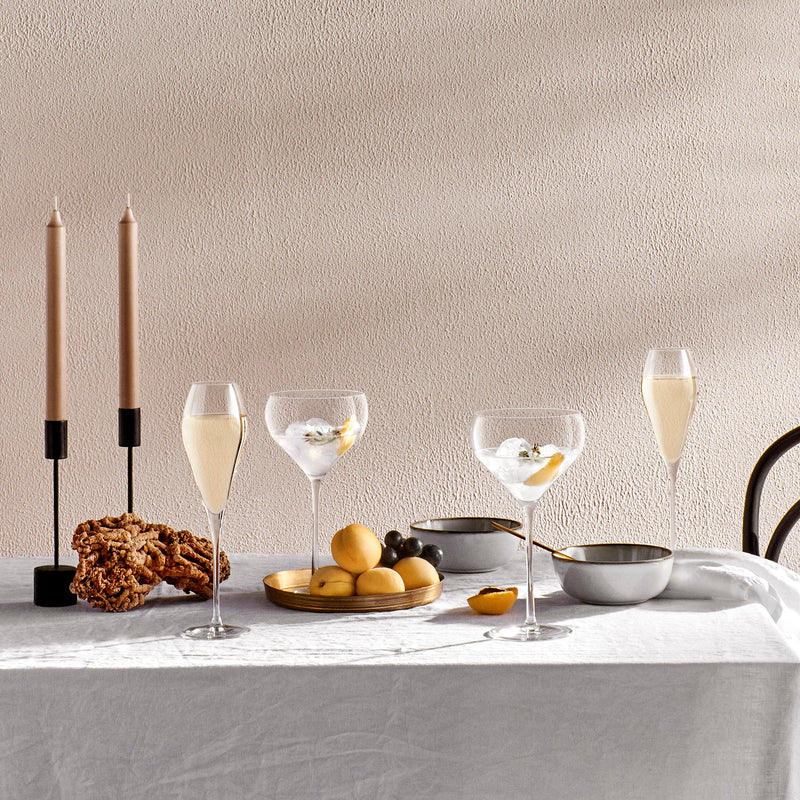 Fantasy@Set of 2 Champagne Glasses