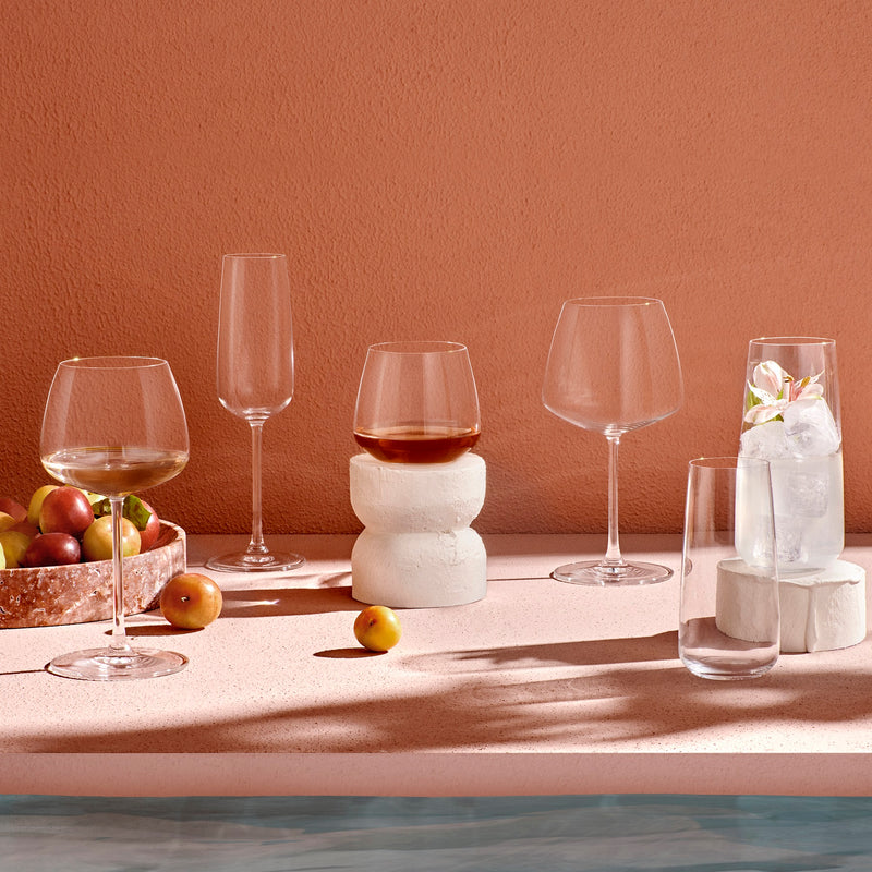Mirage@Set of 2 Red Wine Glasses