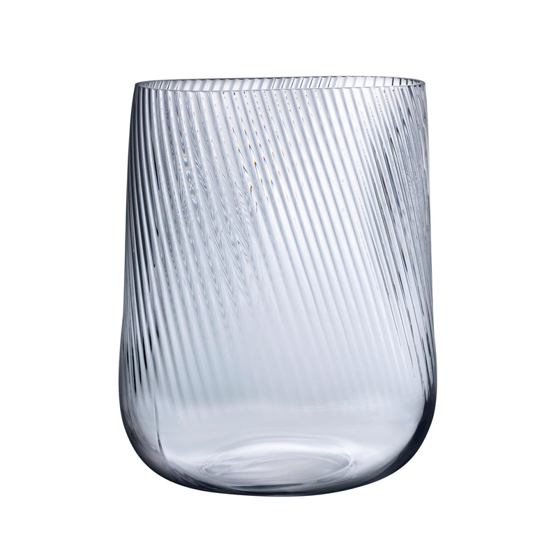Opti Vase Tall by Defne Koz for NUDE in clear
