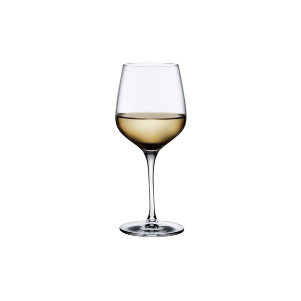 Refine@Set of 2 White Wine Glasses