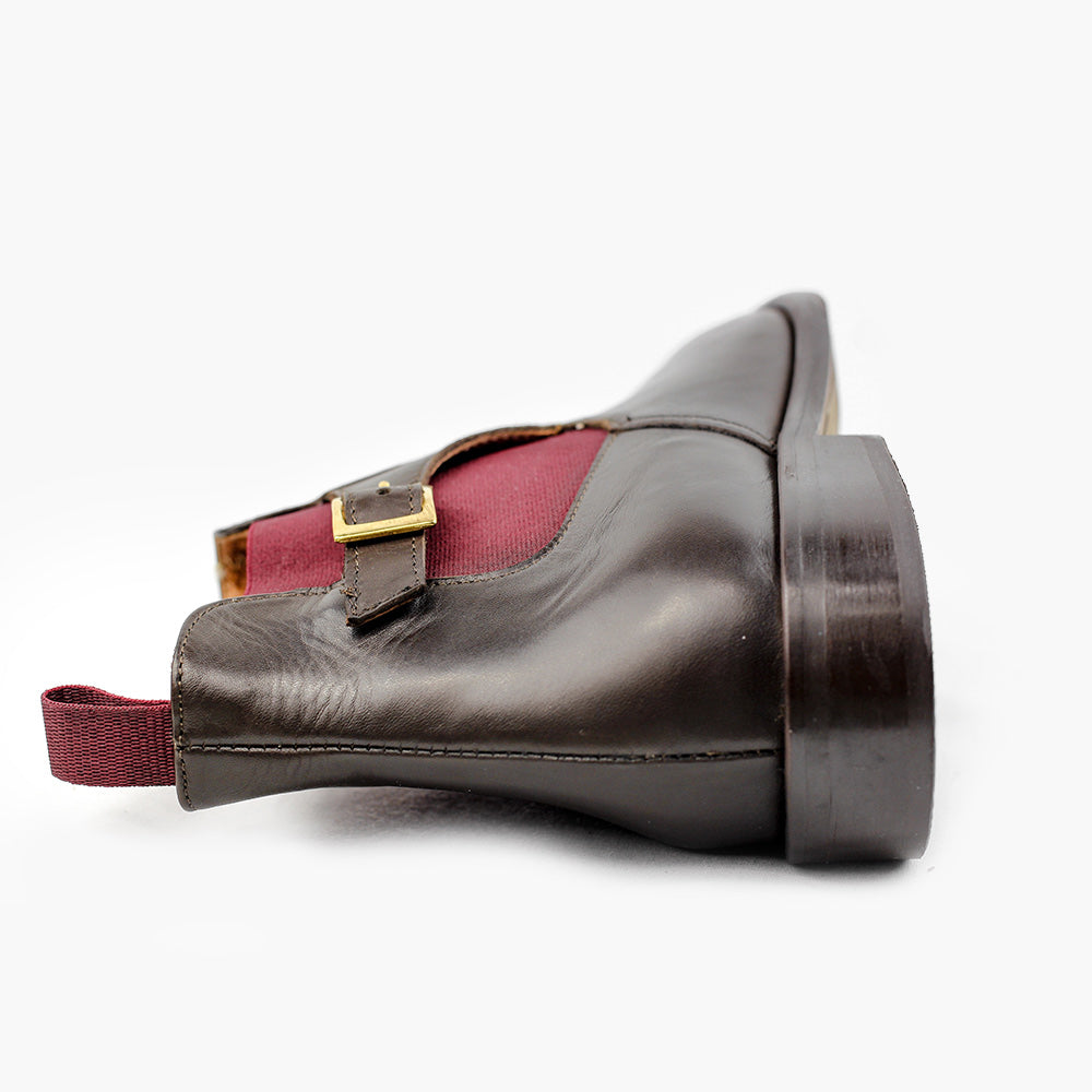 Chelsea boots chocolat homme confort