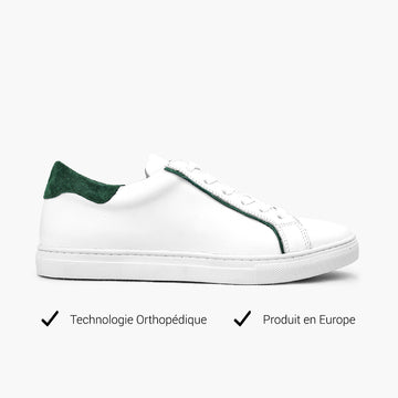 Sneakers femme deep green Technologie orthopédique
