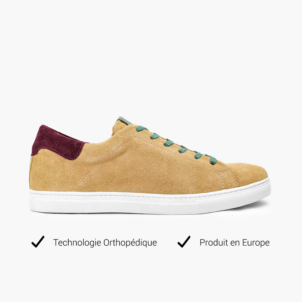 Sneakers reggae chic homme technologie orthopédique
