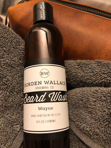 8 oz Beard Wash - Wayne