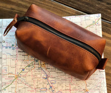 Load image into Gallery viewer, BW Leather Dopp Kit
