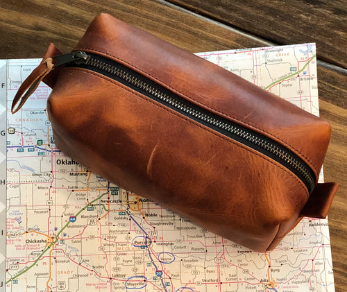 BW Leather Dopp Kit