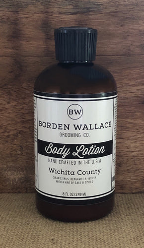 8 oz Body Lotion - Wichita County