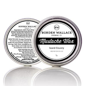 1 oz Mustache Wax - Izard County
