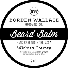 Load image into Gallery viewer, 2 oz Beard Balm - Wichita County
