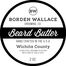 Load image into Gallery viewer, 2 oz Beard Butter - Wichita County