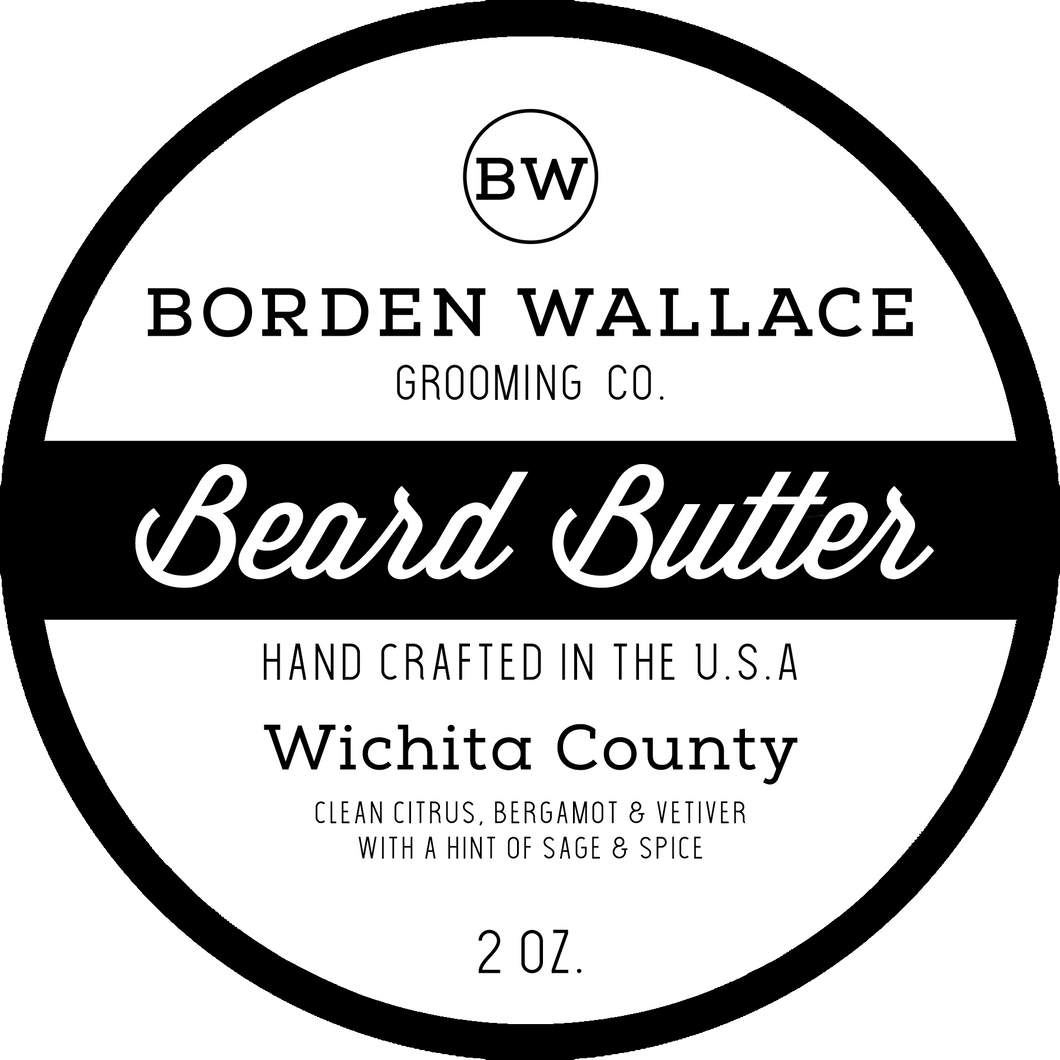 2 oz Beard Butter - Wichita County