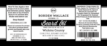 Load image into Gallery viewer, 1 oz Beard Oil - Wichita County
