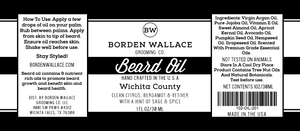 1 oz Beard Oil - Wichita County
