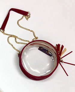 Gameday Clear Bag - Red