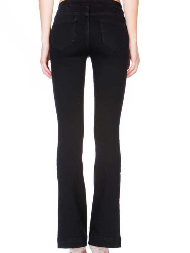 Flare Jegging-Black