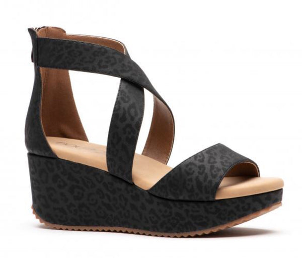Platform Wedge - Black