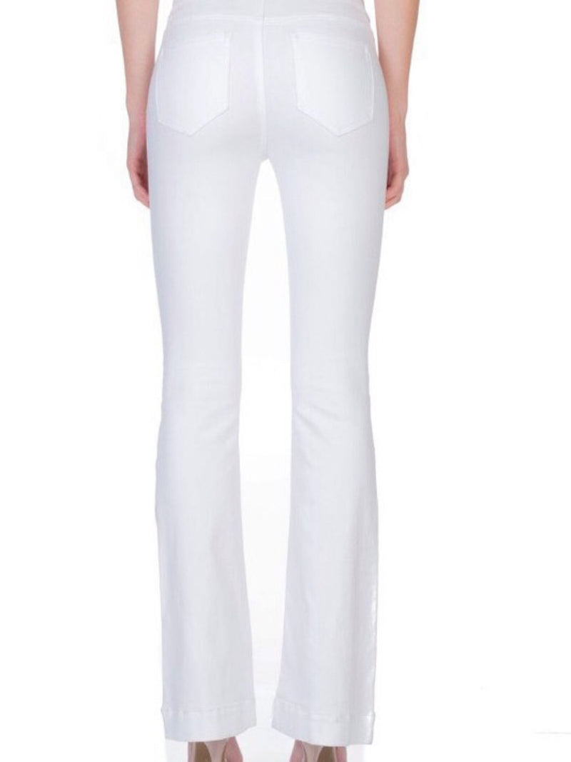 Flare Jegging - White