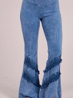 Fit & Flare Legging - Denim
