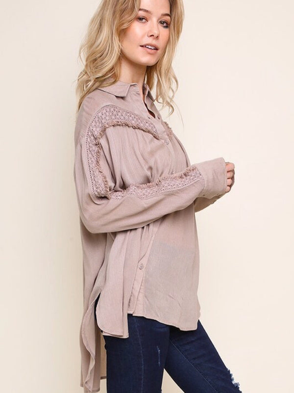 Long Sleeve - Taupe