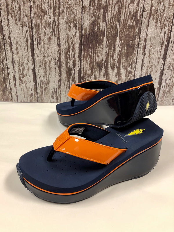 Wedge Sandal - Orange