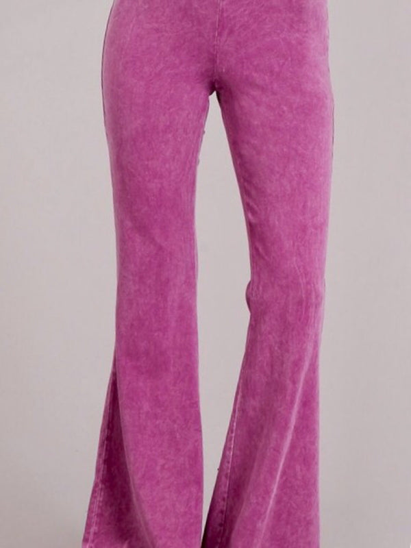 Fit & Flare Legging - Raspberry