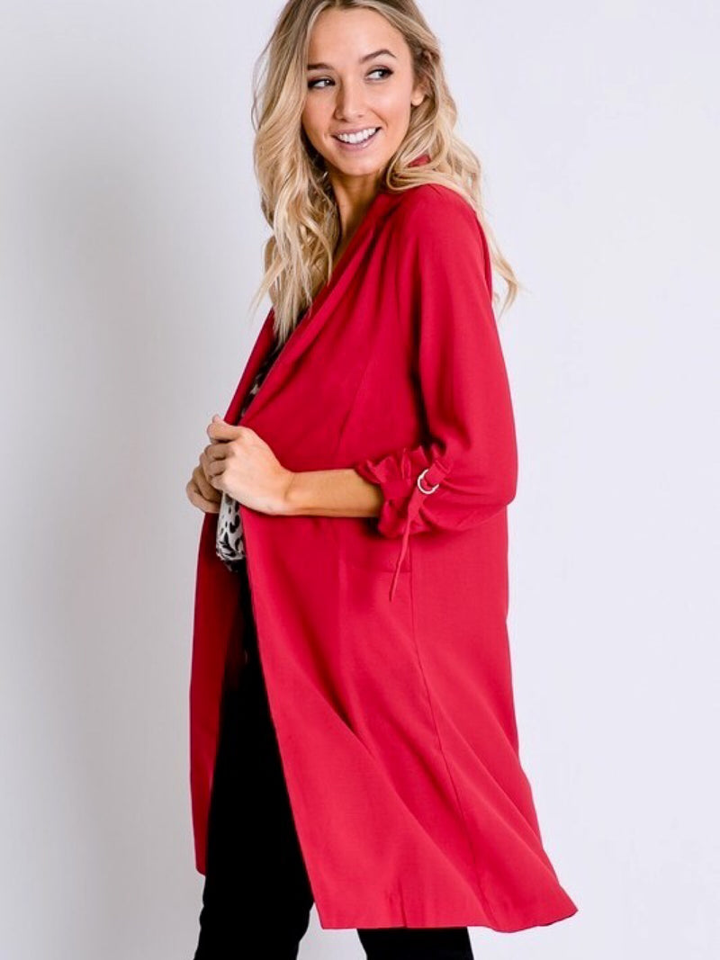 Long Jacket-Red