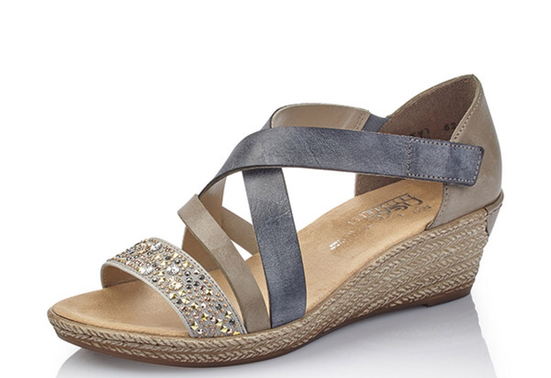Sandal - Grey Blue