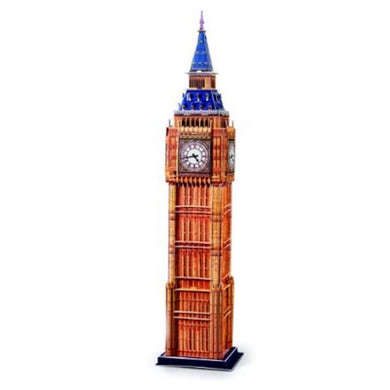 3D Puzzle Independent Big Ben Model