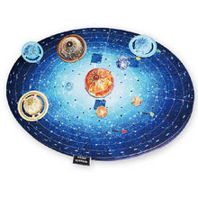 Load image into Gallery viewer, 3D Puzzle Solar System Model Paper Assembly