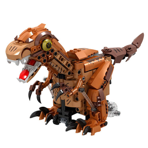 Electric Dinosaur Assembled Model