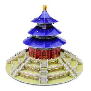 3D Puzzle Chinese Temple of Heaven Model