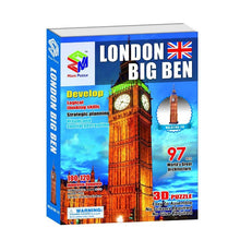 Load image into Gallery viewer, 3D Puzzle Independent Big Ben Model