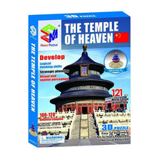 Load image into Gallery viewer, 3D Puzzle Chinese Temple of Heaven Model