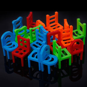 Balanced Stacking Chair Toy