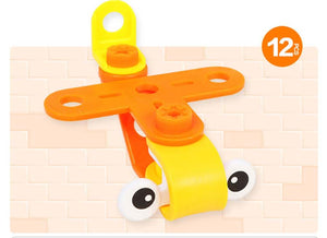 DIY Assembled Glider Toy Blocks