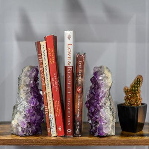 Amethyst Bookend