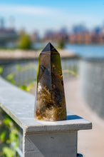 Load image into Gallery viewer, NEW Smoky Quartz Point with Rainbows