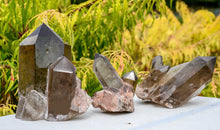Load image into Gallery viewer, Twinflame Smoky Rutilated Quartz with Rainbows