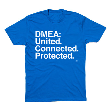 DMEA: United. Connected. Protected (Blue)