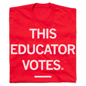 THIS EDUCATOR VOTES