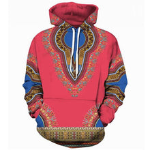 Load image into Gallery viewer, Unisex Dashiki Print Hoodie