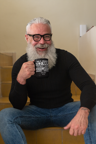 Grumpy Old Man - Coffee Mug
